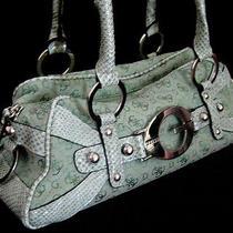 Guess Green Shoulder Bag Handbag Purse Photo
