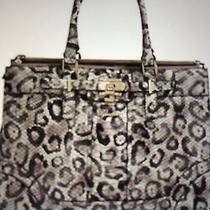 Guess Greyson Snow Leopard-Print Status Carryall Photo