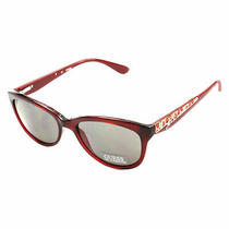 Guess Gu 7209 Bu-3 Cateye Burgundy Milky Red Sunglasses Womens Photo