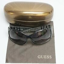 Guess Gu7085 Black and White Frames Gradient Lens Women's Sunglasses  Photo