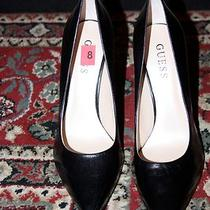 Guess Gw Neodan Leather Pump Size 8m Photo