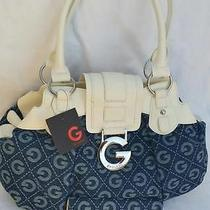 Guess Handbag Blue White  And/or Wallet Buy as Set or Pieces Woman Gift  Photo