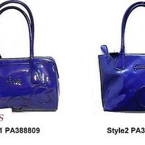 Guess Handbag Maisy Blue  Photo
