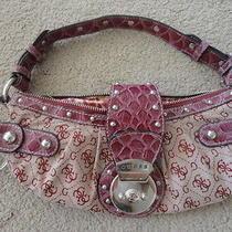Guess Handbag Purple/red Photo