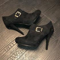 Guess Heels Booties Women's Size 7 Black Photo