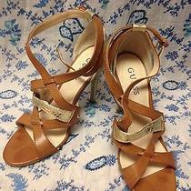 Guess Heels Gold/tan Photo
