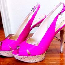 Guess Hot Pink Shoes Photo