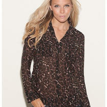 Guess Isabel Leopard-Print Shirt Photo