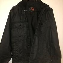 Guess Jacket Black Size Mens Medium Used 100% Authentic Photo
