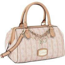 Guess Jasleen Box Satchel (Nude) Photo