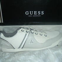 Guess Javonte Men Shoes /sneakers Guess Sneakers  White  Size 12 New With Box  Photo