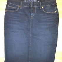 Guess Jean Skinny Skirt Photo