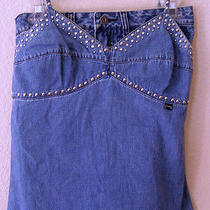 Guess Jeans 2 Piece Set  Mini Skirt Size 29 and Top Size 7   Photo