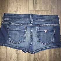 Guess Jeans 29 Blue Shorts Wow Photo