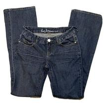 Guess Jeans Belmont Flare Medium Dark Wash Size 27 Photo