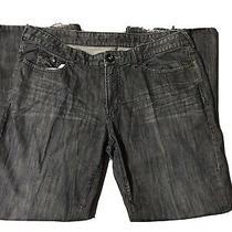 Guess Jeans Black 40x32 Loose Fit Boot Cut Great Color Vintage Photo