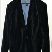 Guess Jeans Black Button Close Cotton Soft Coat Jacket Size L Photo