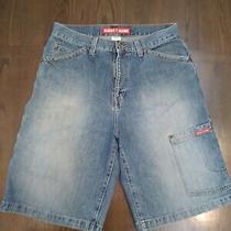 Guess Jeans Denim Short Blue Size 34 Mens  Photo