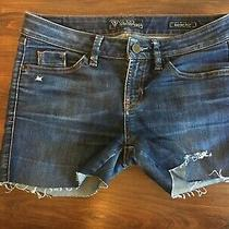 Guess Jeans Denim Shorts Size 27 Women's Photo