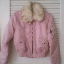 Guess Jeans Girls Satin Down Alternative Ski/winter Jacketsize Medium Photo