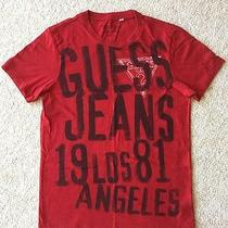 Guess Jeans Graphic T Shirt Size Xs Photo