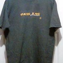 Guess Jeans - Guess Jeans Denim Elements 50/50 Cotton/poly Blend T-Shirt - Large Photo