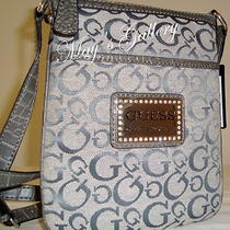 Guess Jeans Handbag Purse Cross Body Tote Shoulder Hand Bag Wallet Wristlet Nwt Photo