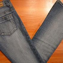 Guess Jeans Malibu Size 28 Women Denim Blue Jeans Bootcut Straight Leg Low Rise Photo
