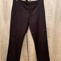 Guess Jeans Mens Pinstriped Pant Photo