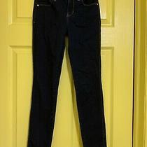 Guess Jeans Pants Sexy Curve Size 24 Blue Excellent Condition Photo