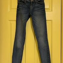 Guess Jeans Pants Slow  Rise Skinny Size 24 Blue Excellent Condition Photo