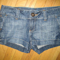 Guess Jeans Short Shorts Sz 24 Fab Photo