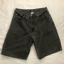 Guess Jeans Shorts Giorges Marciano Vintage Sz 36 Men Black Denim Usa Made 39980 Photo