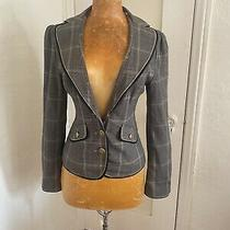 Guess Jeans Stretch Womens Blazer Size Small-Read Photo