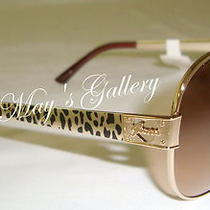 Guess  Jeans Sun Glasses Glass Sunglasses Eyewear  Gold  Gu 7161  W Nib Photo