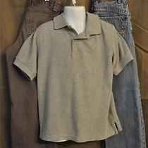 Guess Jeans & Tcp Gray Denim Pants  S/s Polo Shirt 3pc Set - Boys Sz 5 Photo