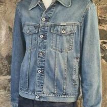 Guess Jeans Vintage Women's Ladies Original Design Denim Jacket Blue Size Xl 302 Photo