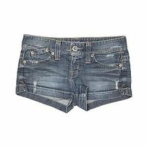 Guess Jeans Women Blue Denim Shorts 28w Photo