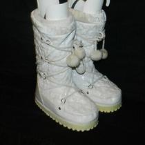 Guess Kids Lunarflurry Snow Boot White  (Toddler/little Kid/big Kid) Size 2.5 Photo