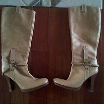 Guess Knee High Boots Euc Ln 8 Sexy Heeled Mao  Photo