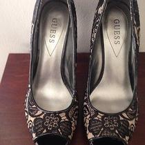 Guess Lace Heels Photo
