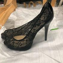 Guess Lace Heels 9.5 Photo