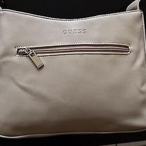 Guess Lady Luxe Leather Satchel (Genuine Leather) Photo
