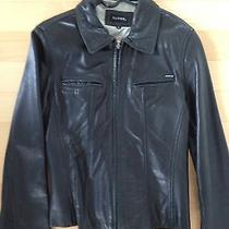 Guess Lamb Leather Jacket M Photo