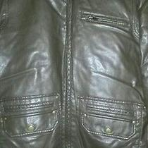 Guess Leather Jacket Photo