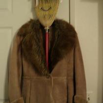 Guess Leather Jacketfaux Fur Collarwoman's Size Smalleucguess Brandpockets Photo