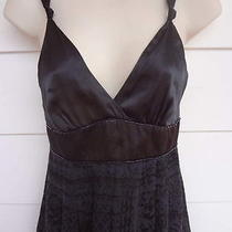 Guess    Little Black Silk Chiffon Dress  Party or Prom Size 5 Photo