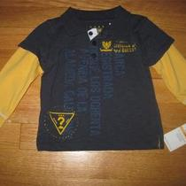 Guess Long Sleeve Polo Shirt for Baby Boy Size 12 Months Nwt Photo