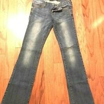 Guess  Los Angeles Blue Jeans Women Size  26 Waist 32 Length Mint Condition Logo Photo