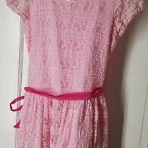 Guess Los Angeles Girl Dress Size 14 Pink - Excellent Photo